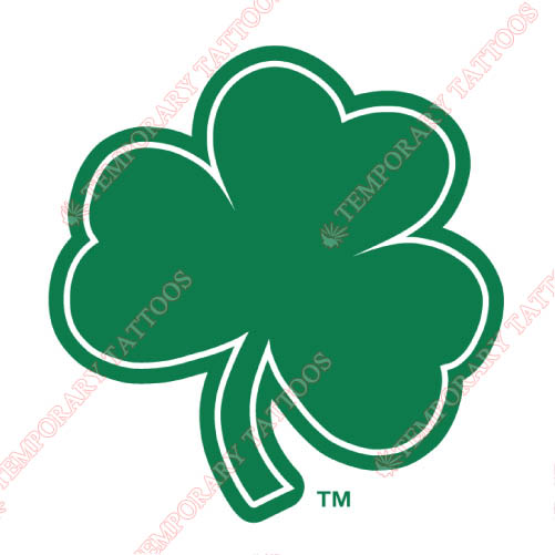 Notre Dame Fighting Irish Customize Temporary Tattoos Stickers NO.5726