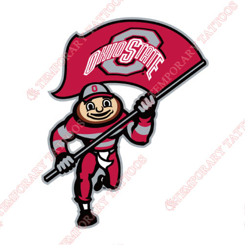 Ohio State Buckeyes Customize Temporary Tattoos Stickers NO.5749