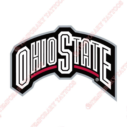 Ohio State Buckeyes Customize Temporary Tattoos Stickers NO.5757