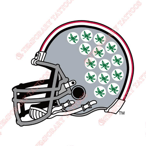 Ohio State Buckeyes Customize Temporary Tattoos Stickers NO.5762