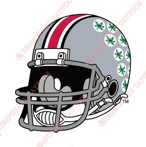 Ohio State Buckeyes Customize Temporary Tattoos Stickers NO.5763