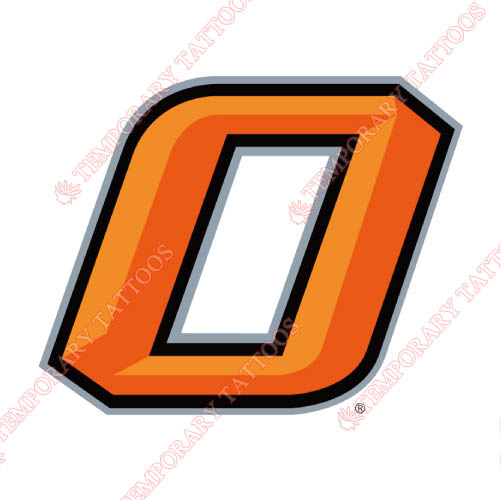 Oklahoma State Cowboys Customize Temporary Tattoos Stickers NO.5771