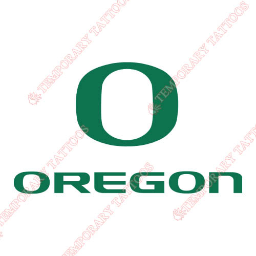 Oregon Ducks Customize Temporary Tattoos Stickers NO.5790
