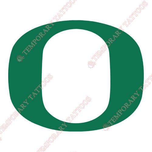 Oregon Ducks Customize Temporary Tattoos Stickers NO.5795