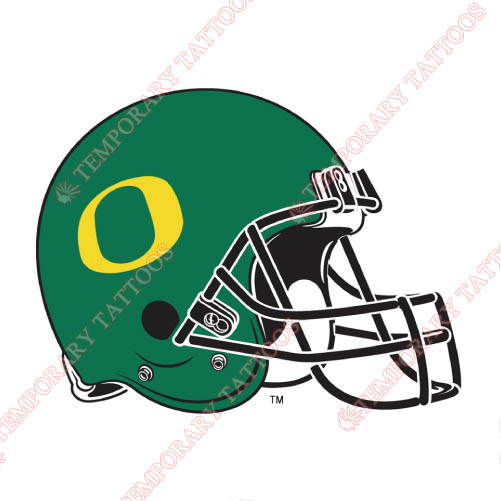 Oregon Ducks Customize Temporary Tattoos Stickers NO.5801