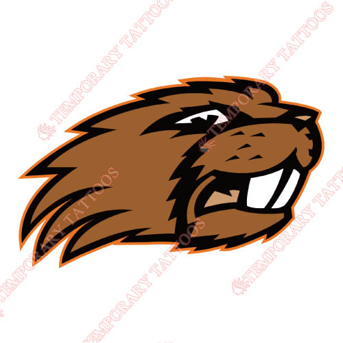 Oregon State Beavers Customize Temporary Tattoos Stickers NO.5816