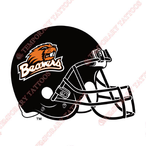 Oregon State Beavers Customize Temporary Tattoos Stickers NO.5822