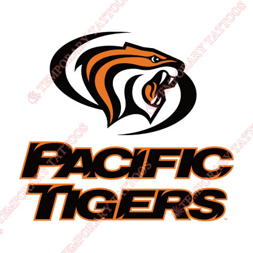 Pacific Tigers Customize Temporary Tattoos Stickers NO.5823