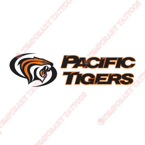 Pacific Tigers Customize Temporary Tattoos Stickers NO.5825