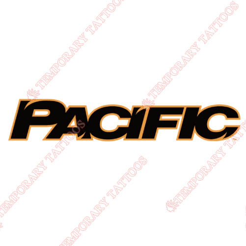 Pacific Tigers Customize Temporary Tattoos Stickers NO.5827
