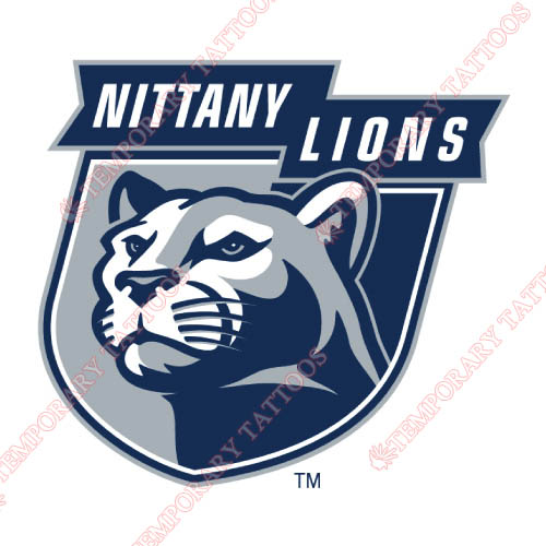 Penn State Nittany Lions Customize Temporary Tattoos Stickers NO.5859