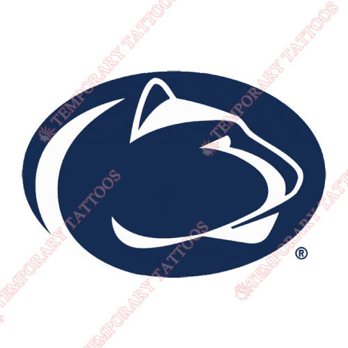 Penn State Nittany Lions Customize Temporary Tattoos Stickers NO.5860