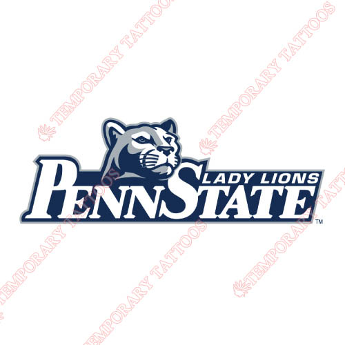 Penn State Nittany Lions Customize Temporary Tattoos Stickers NO.5865