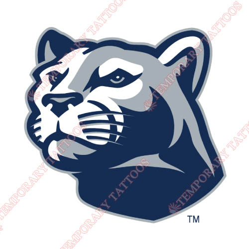 Penn State Nittany Lions Customize Temporary Tattoos Stickers NO.5866