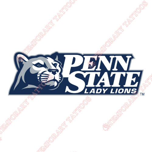 Penn State Nittany Lions Customize Temporary Tattoos Stickers NO.5868