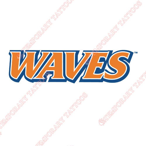 Pepperdine Waves Customize Temporary Tattoos Stickers NO.5881