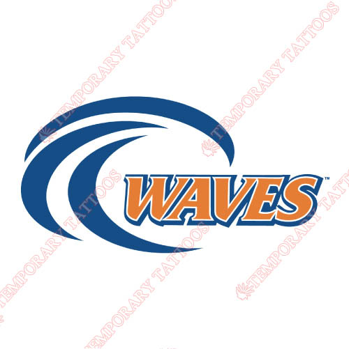Pepperdine Waves Customize Temporary Tattoos Stickers NO.5885