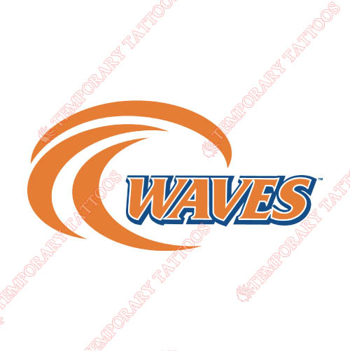 Pepperdine Waves Customize Temporary Tattoos Stickers NO.5886