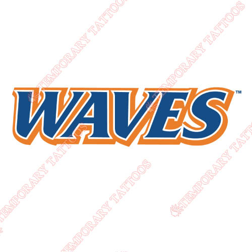 Pepperdine Waves Customize Temporary Tattoos Stickers NO.5887