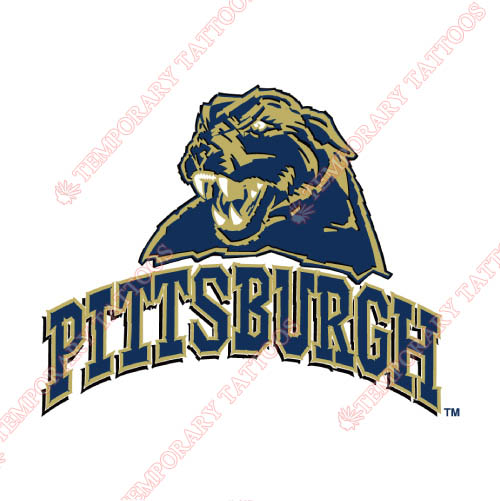 Pittsburgh Panthers Customize Temporary Tattoos Stickers NO.5895