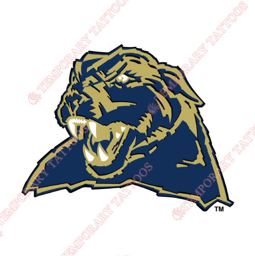 Pittsburgh Panthers Customize Temporary Tattoos Stickers NO.5896