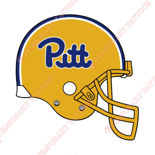 Pittsburgh Panthers Customize Temporary Tattoos Stickers NO.5905