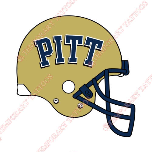 Pittsburgh Panthers Customize Temporary Tattoos Stickers NO.5906