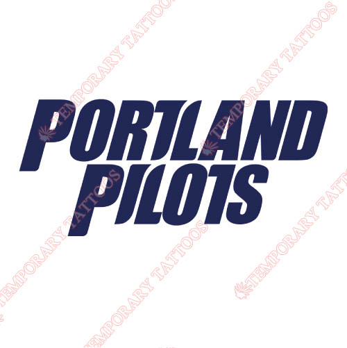 Portland Pilots Customize Temporary Tattoos Stickers NO.5910