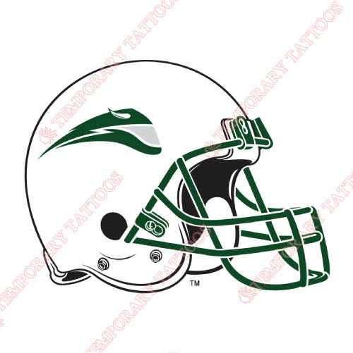 Portland State Vikings Customize Temporary Tattoos Stickers NO.5917