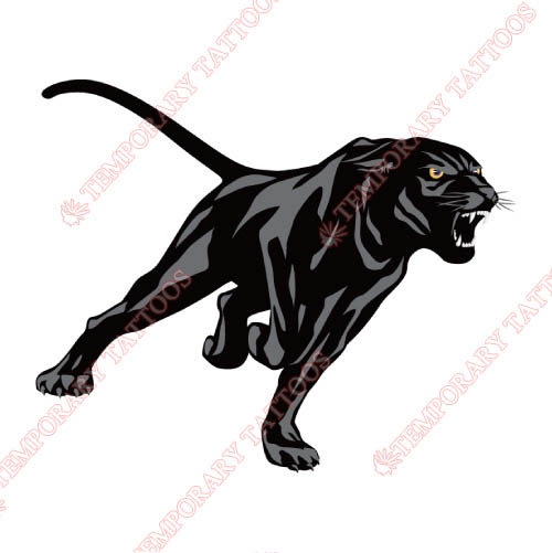 Prairie View A M Panthers Customize Temporary Tattoos Stickers NO.5920