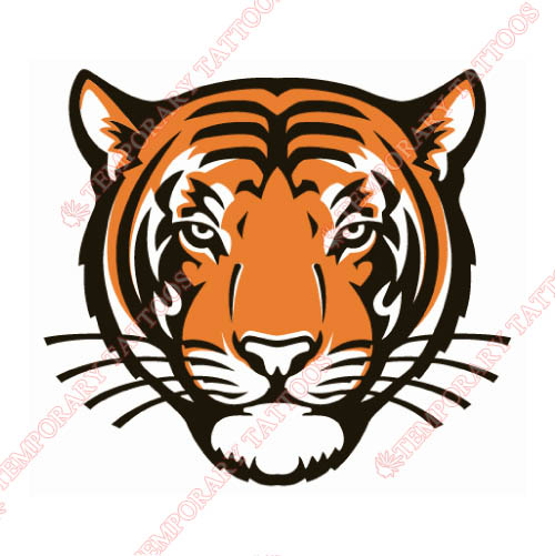 Princeton Tigers Customize Temporary Tattoos Stickers NO.5927