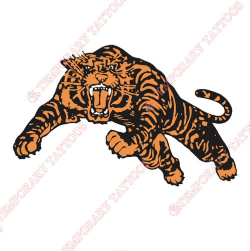 Princeton Tigers Customize Temporary Tattoos Stickers NO.5928