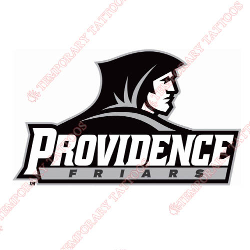 Providence Friars Customize Temporary Tattoos Stickers NO.5936