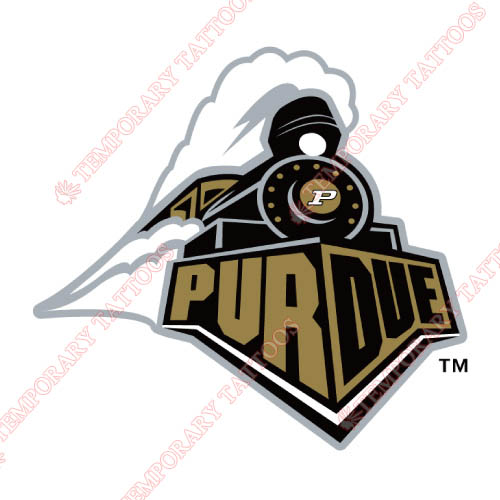 Purdue Boilermakers Customize Temporary Tattoos Stickers NO.5943