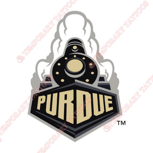 Purdue Boilermakers Customize Temporary Tattoos Stickers NO.5948
