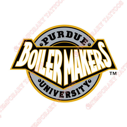 Purdue Boilermakers Customize Temporary Tattoos Stickers NO.5949