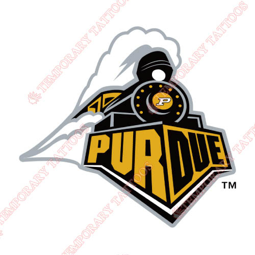 Purdue Boilermakers Customize Temporary Tattoos Stickers NO.5955