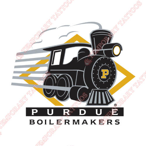 Purdue Boilermakers Customize Temporary Tattoos Stickers NO.5959