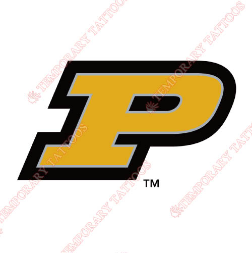Purdue Boilermakers Customize Temporary Tattoos Stickers NO.5960