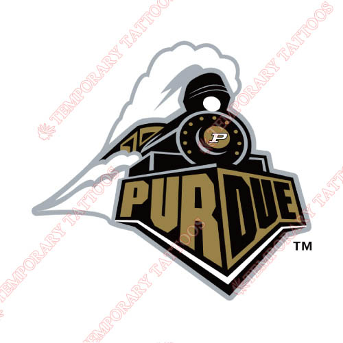 Purdue Boilermakers Customize Temporary Tattoos Stickers NO.5962