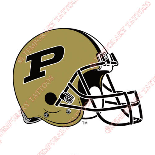 Purdue Boilermakers Customize Temporary Tattoos Stickers NO.5964