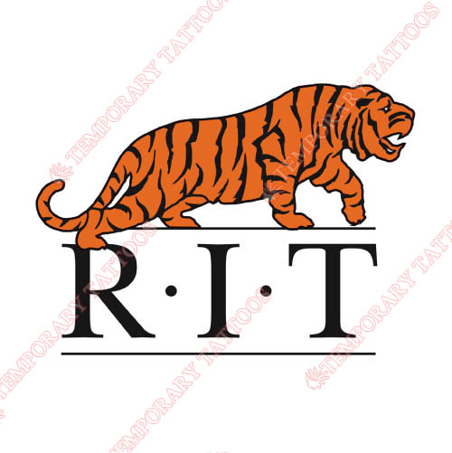RIT Tigers Customize Temporary Tattoos Stickers NO.6010