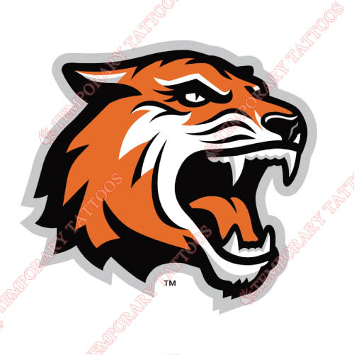 RIT Tigers Customize Temporary Tattoos Stickers NO.6011