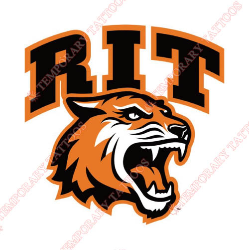 RIT Tigers Customize Temporary Tattoos Stickers NO.6012