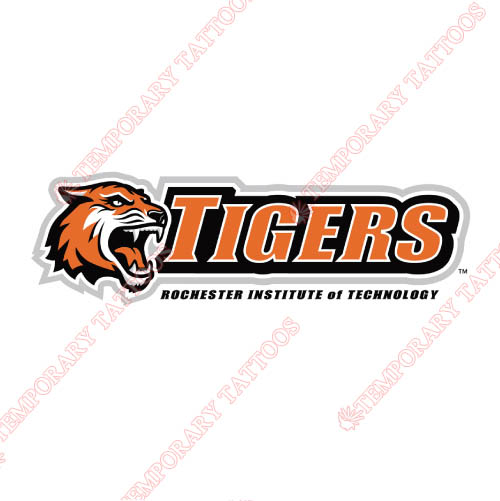 RIT Tigers Customize Temporary Tattoos Stickers NO.6015