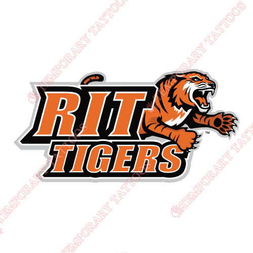 RIT Tigers Customize Temporary Tattoos Stickers NO.6016