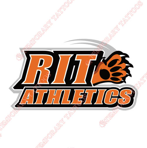 RIT Tigers Customize Temporary Tattoos Stickers NO.6017