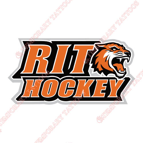 RIT Tigers Customize Temporary Tattoos Stickers NO.6019