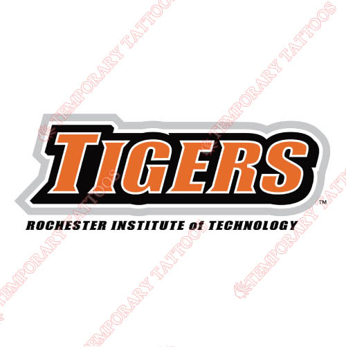 RIT Tigers Customize Temporary Tattoos Stickers NO.6020