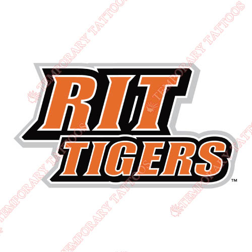 RIT Tigers Customize Temporary Tattoos Stickers NO.6021